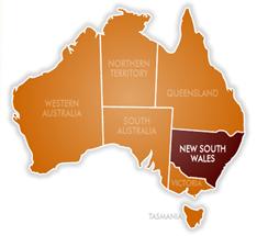 NSW New South Wales Australia